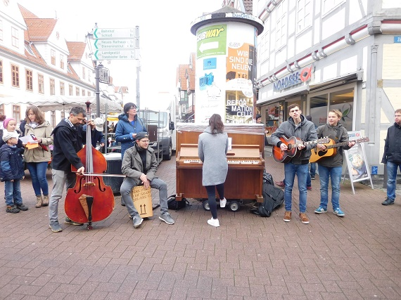 Flashmob Band klein