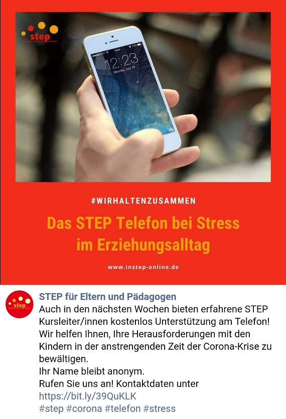 step telefon fb post
